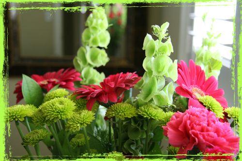 Flowers grunge