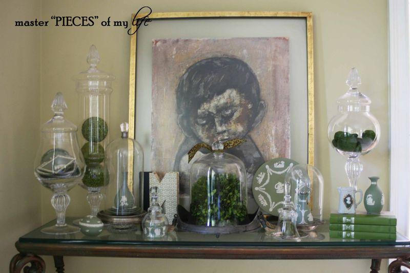 Glass cloche summer 1