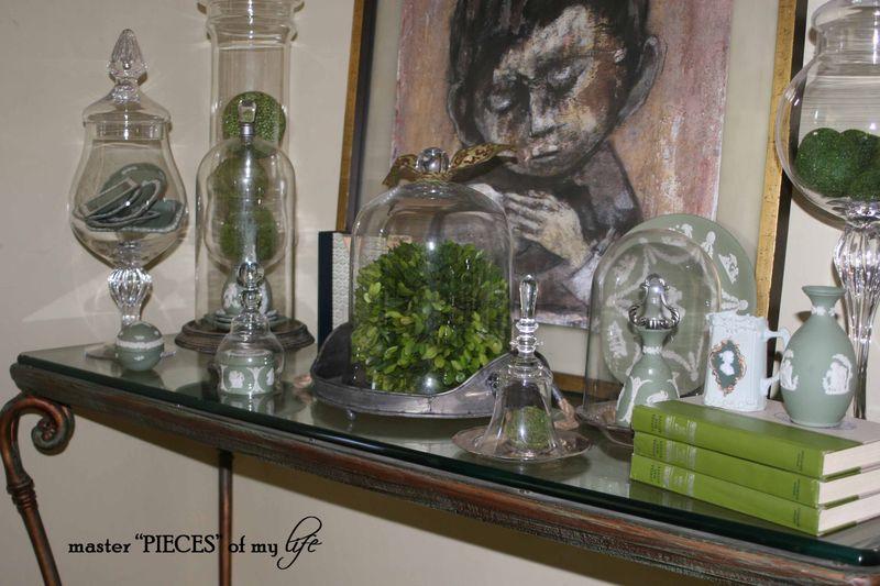 Glass cloche summer