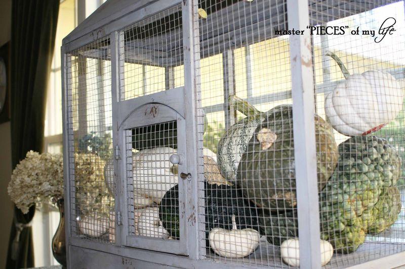 Pumpkin birdcage 2