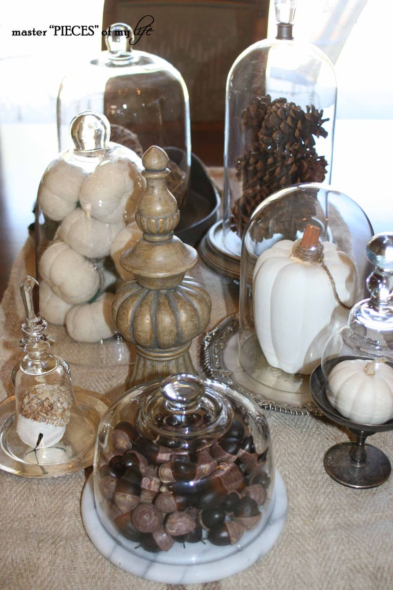 Glass cloche vignette fall 4