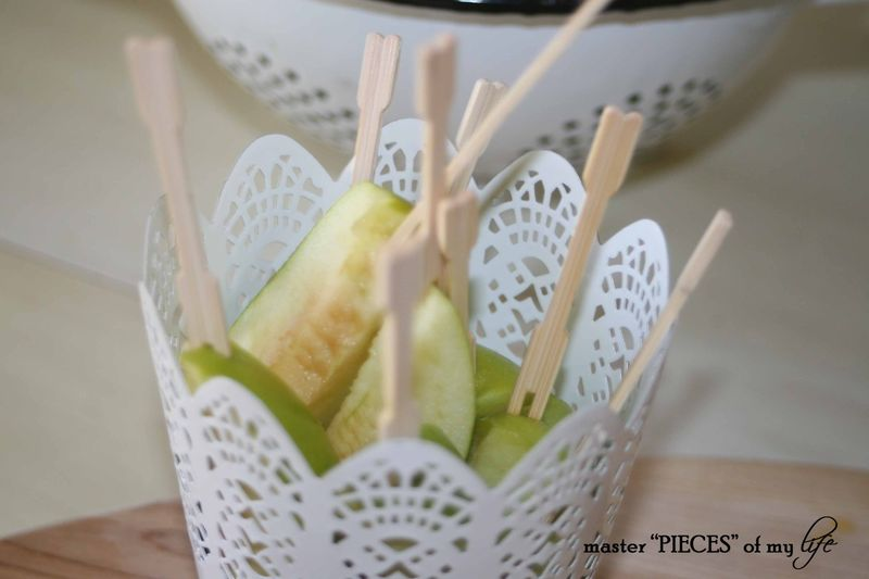 Caramel apple bar 7