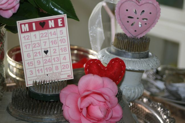 a little valentine's decor