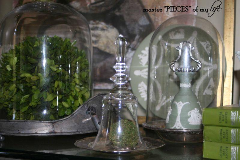 Glass cloche summer 7