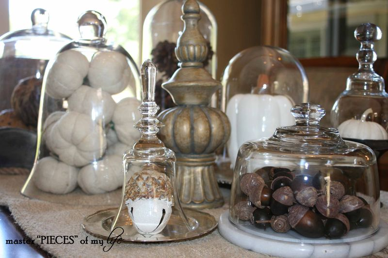 Glass cloche vignette fall 3
